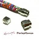 1 SET DE FERMOIRS MAGNETIQUES ARGENT PLATINE  10MM H22011, DIY