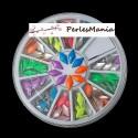 1 boite de 6cm Nail Art LOSANGE FLUO multicolores 1169689, DIY