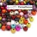 500 PERLES ILLUSIONS MAGIQUES MIRACLE ROND MULTICOLORES 4mm, DIY