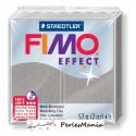 1 pain 56g pate polymère FIMO EFFECT GRIS CLAIR PERLE 8020-817