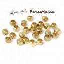 100 perles intercalaire CUBE ARRONDI 2,5mm qualité ORS1153138, DIY