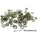 PAX 500 anneaux de jonction BRONZE 7mm par 1.3mm S1116975, DIY