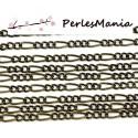 PAX 10m chaine BRONZE S1112206 pour création de colliers, DIY