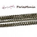 PAX 10m chaine BRONZE S1112399 pour création de colliers, DIY