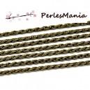 PAX 10m chaine BRONZE S1116068 pour création de colliers, DIY