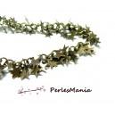 20cm chaine MULTI ETOILES BRONZE ref 10 pour création de bijoux