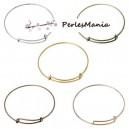 PAX 5 supports bracelets jonc extensibles et réglables 5 COULEURS S1160405
