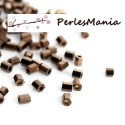 Environ 1400 perles Japonaise tube hexagonale en verre 2mm S1176406