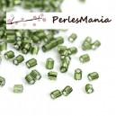 Environ 1400 perles Japonaise tube hexagonale en verre 2mm S1176403