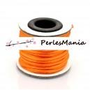 1 rouleau de 10 mètres fil nylon pour MACRAME 2mm ORANGE P1A1311
