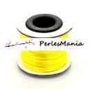 1 rouleau de 10 mètres fil nylon pour MACRAME 2mm JAUNE P1A1411